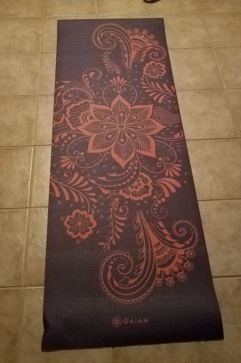 1% Better Requires a New Yoga Mat